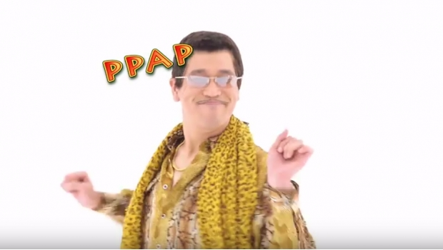 pppap piko taro música music apple pen