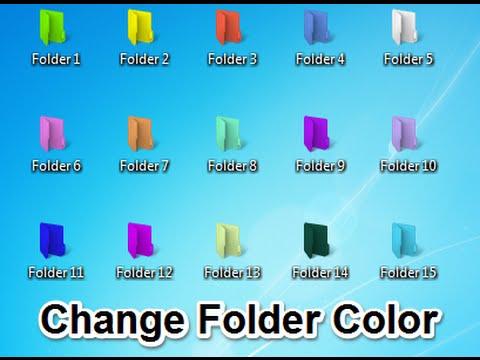 customize folder color