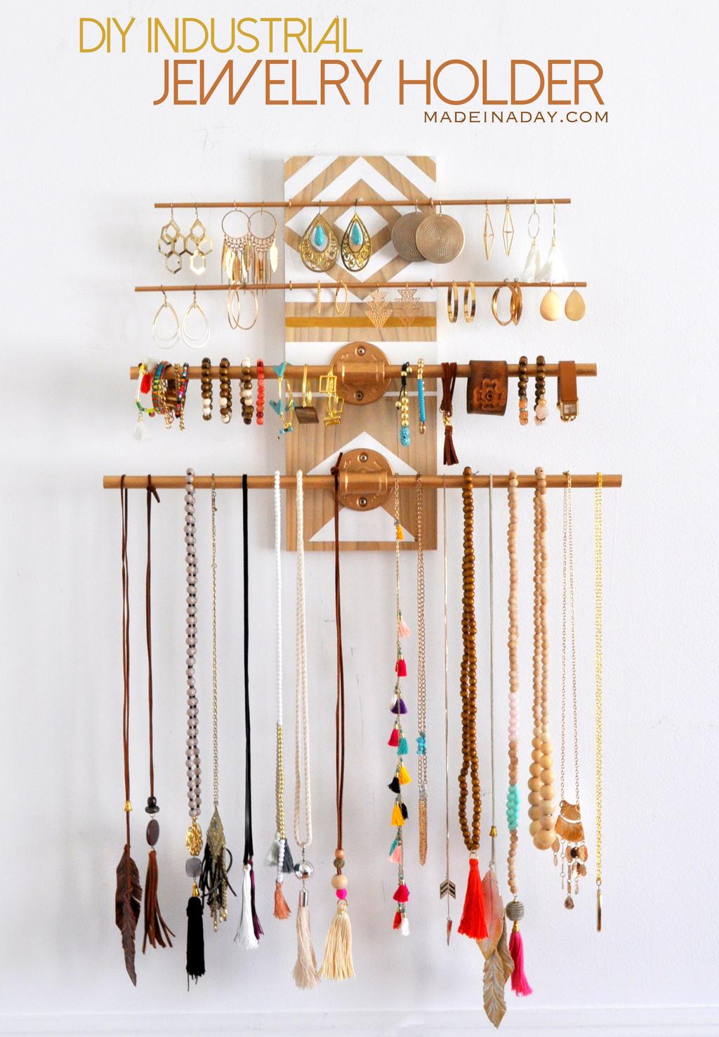 Vikalpah: 10 unique jewelry organizer ideas