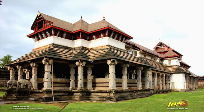 Thousand pillared Jain Temple of Moodabidri, near Mangaluru