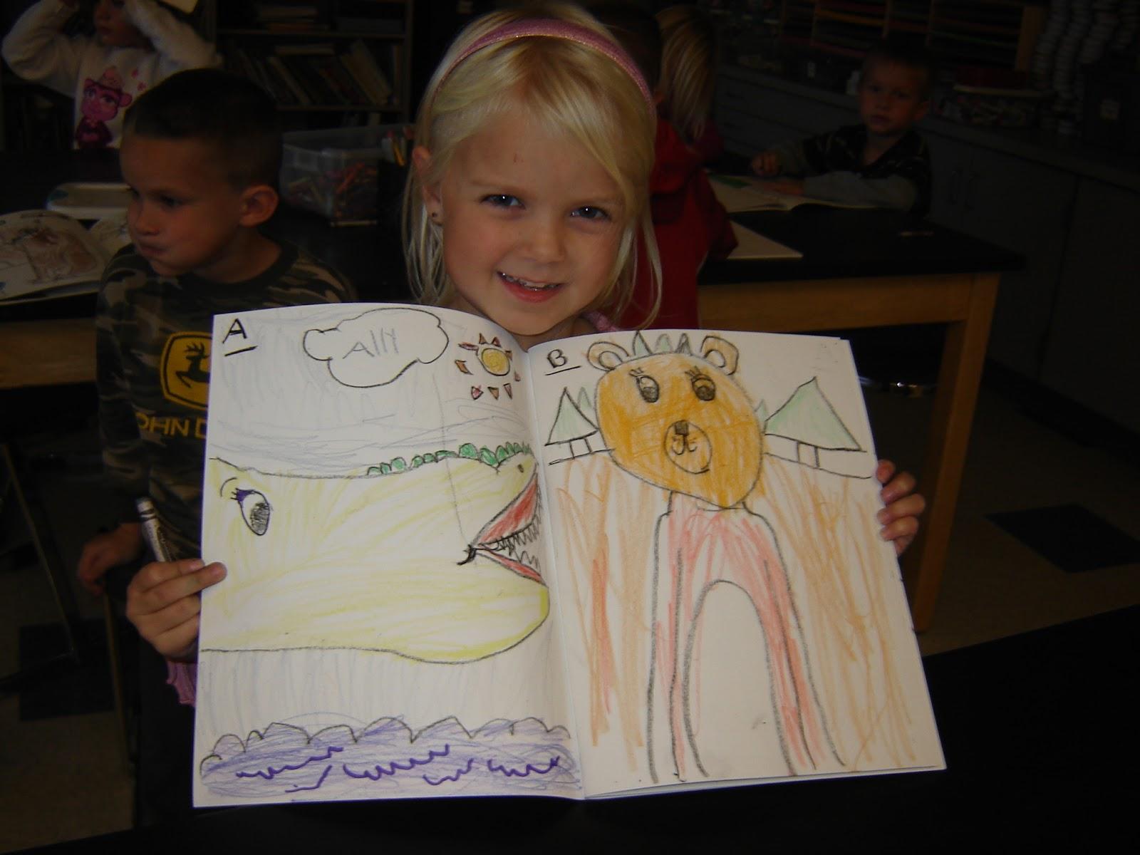 Jamestown Elementary Art Blog Kindergarten Zoophonics Books