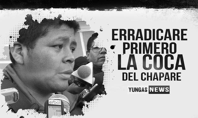 Franclin promete erradicar en Chapare si llega al gobierno (AUDIO)