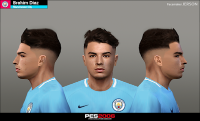 PES 6 Faces Brahim Diaz by Jerson Facemaker