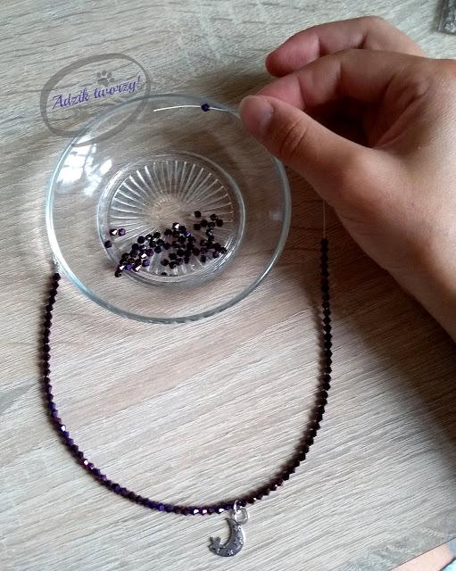 biżuteria z koralików krok po kroku