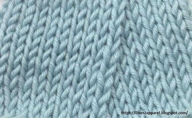 Purl fabric