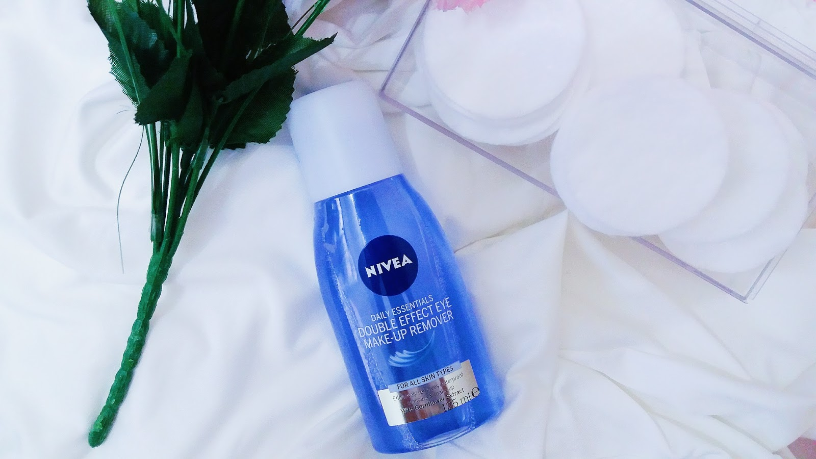 NIVEA DOUBLE EFFECT EYE MAKE-UP REMOVER REVIEW