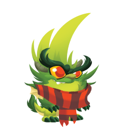 Appearance of Grinchy Dragon when baby