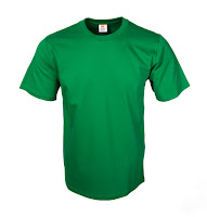 Kaos Polos Eco Soft Irish Green