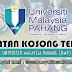 Jawatan Kosong di Universiti Malaysia Pahang (UMP) - 30 Mei 2019