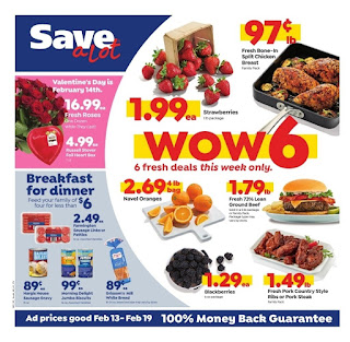 Save a Lot weekly ad 2/13/19 - 2/19/19