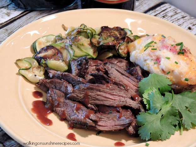 Grilled Skirt Steak from Walking on Sunshine Recipes is a delicious recipe your whole family will enjoy for dinner tonight!