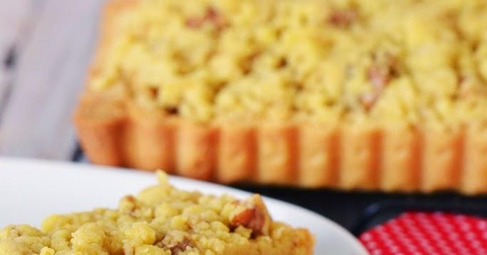 Bake For Happy Kids Apple And Pear Crumble Tart Gordon