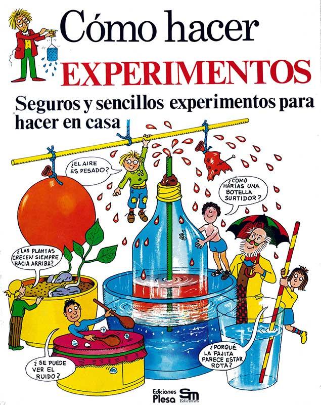 Libro Cómo hacer experimentos Plesa SM