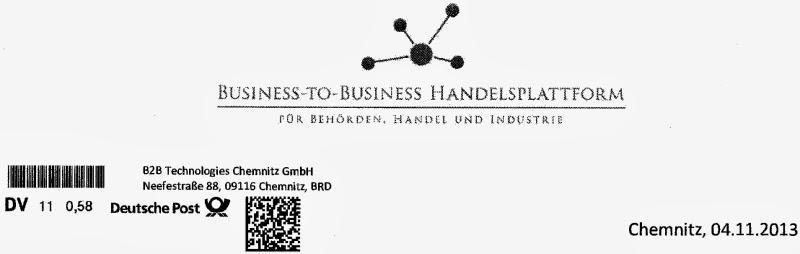 B2b Technologies Chemnitz Gmbh