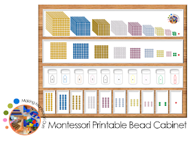 Quot Making Montessori Ours Quot Diy Montessori Bead Cabinet
