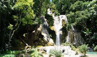 Cataratas Kuang Si, water fall, Kuang Si, Luang Prabang, gastos