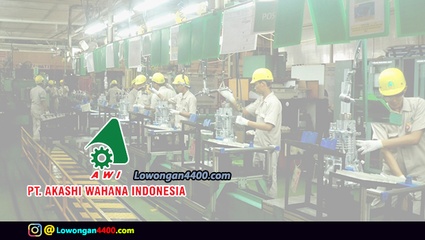 Lowongan Kerja Operator PT. Akashi Wahana Indonesia (PT. AWI) Tahun 2018