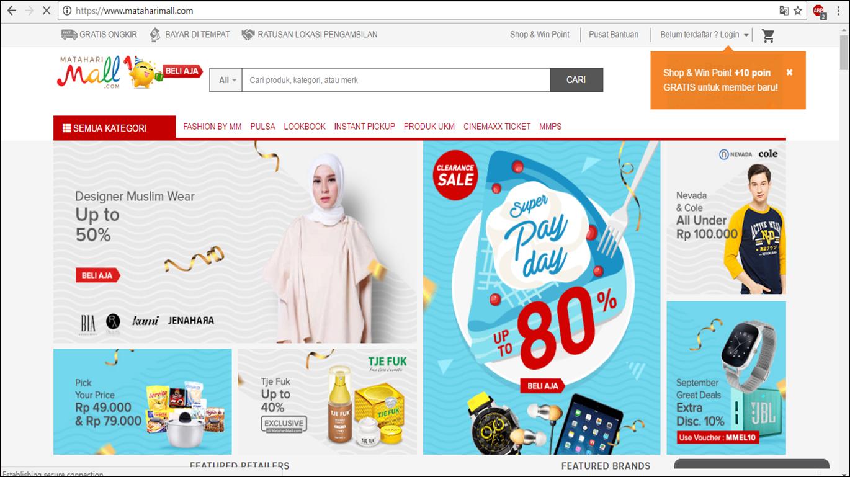 Aplikasi Dan Proses Bisnis Dalam E Commerce Jual Camilan Khas Madura