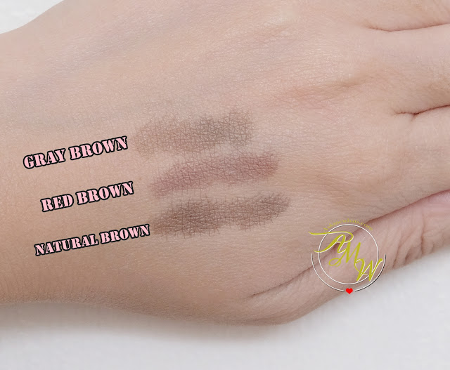 a swatch photo of Maybelline Tattoo Brow Ink Pen Review by Nikki Tiu of www.askmewhats.com