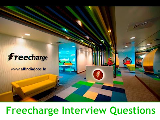 Freecharge Interview Questions