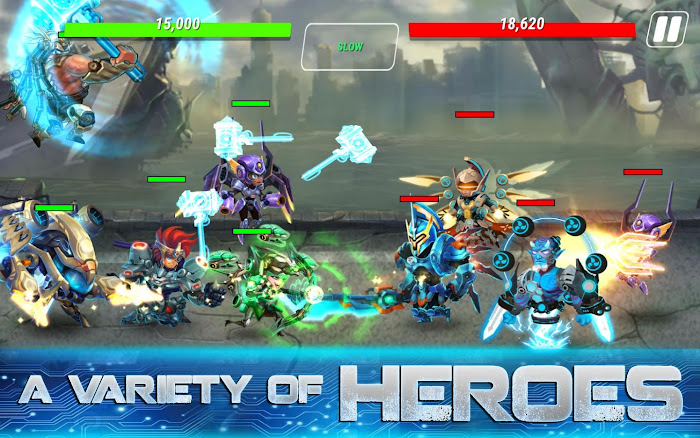 Download Heroes Infinity Gods Future Fight MOD APK