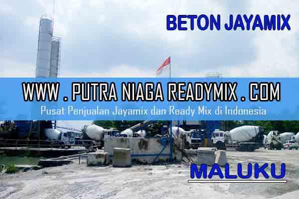 Harga Beton Jayamix Maluku