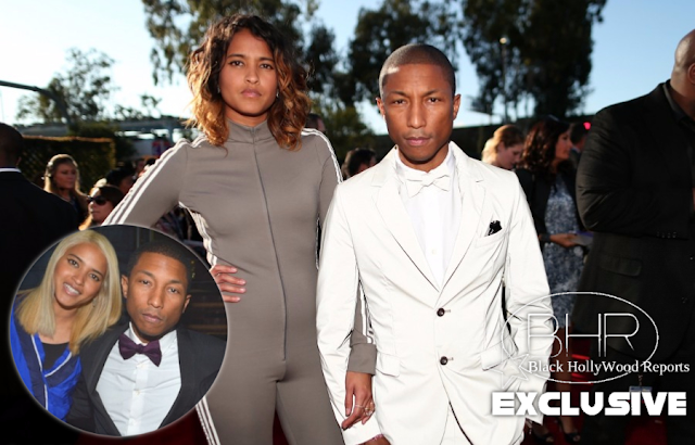 BHR Congratulates Pharrell And His Wife Helen Lasichanh For Welcoming Triples Into The World