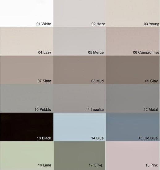 C Vt Paint Colours