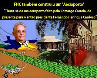Resultado de imagem para fazenda de FHC com aeroporto?