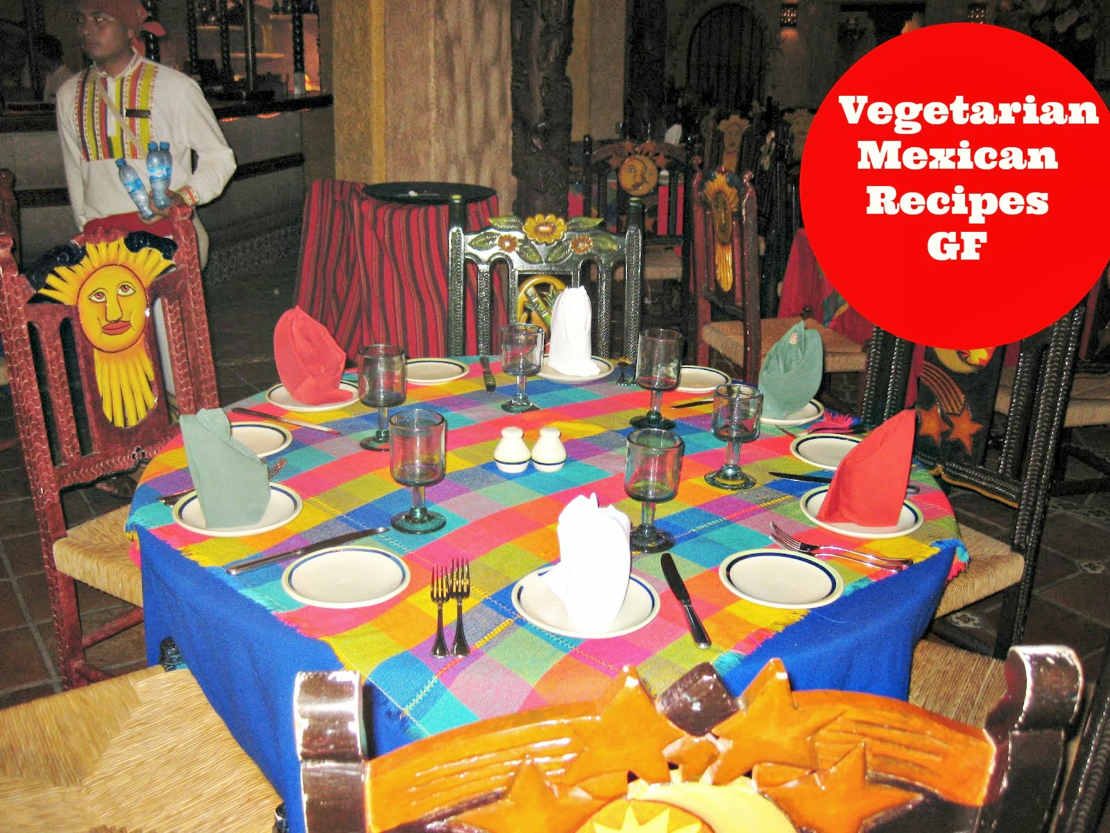 Festive Mexican tablescape