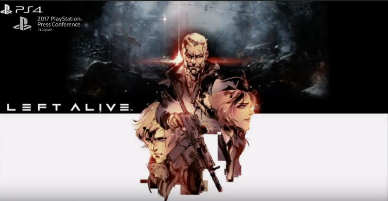 Square Enix Announces New Game Left Alive for PlayStation 4.