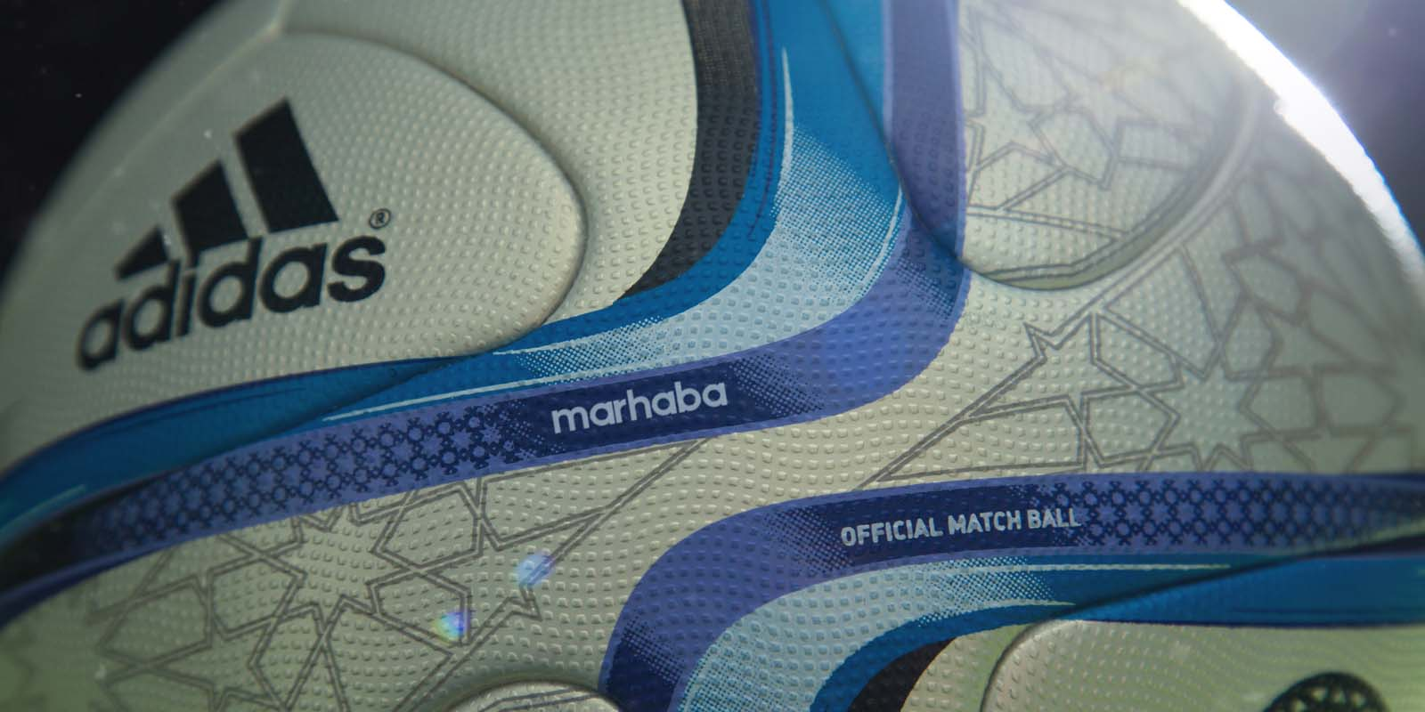ccb53853045 The new Africa Cup of Nations 2015 Ball is based on the popular Adidas  Brazuca 2014 World Cup Ball. Like the Adidas Brazuca, the new Adidas  Marhaba AFCON ...