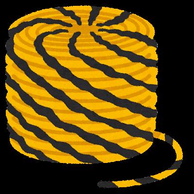 トラロープのイラスト