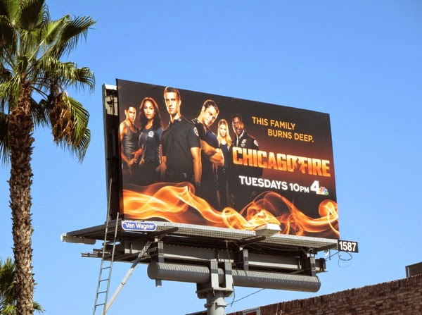 Chicago Fire season 3 billboard