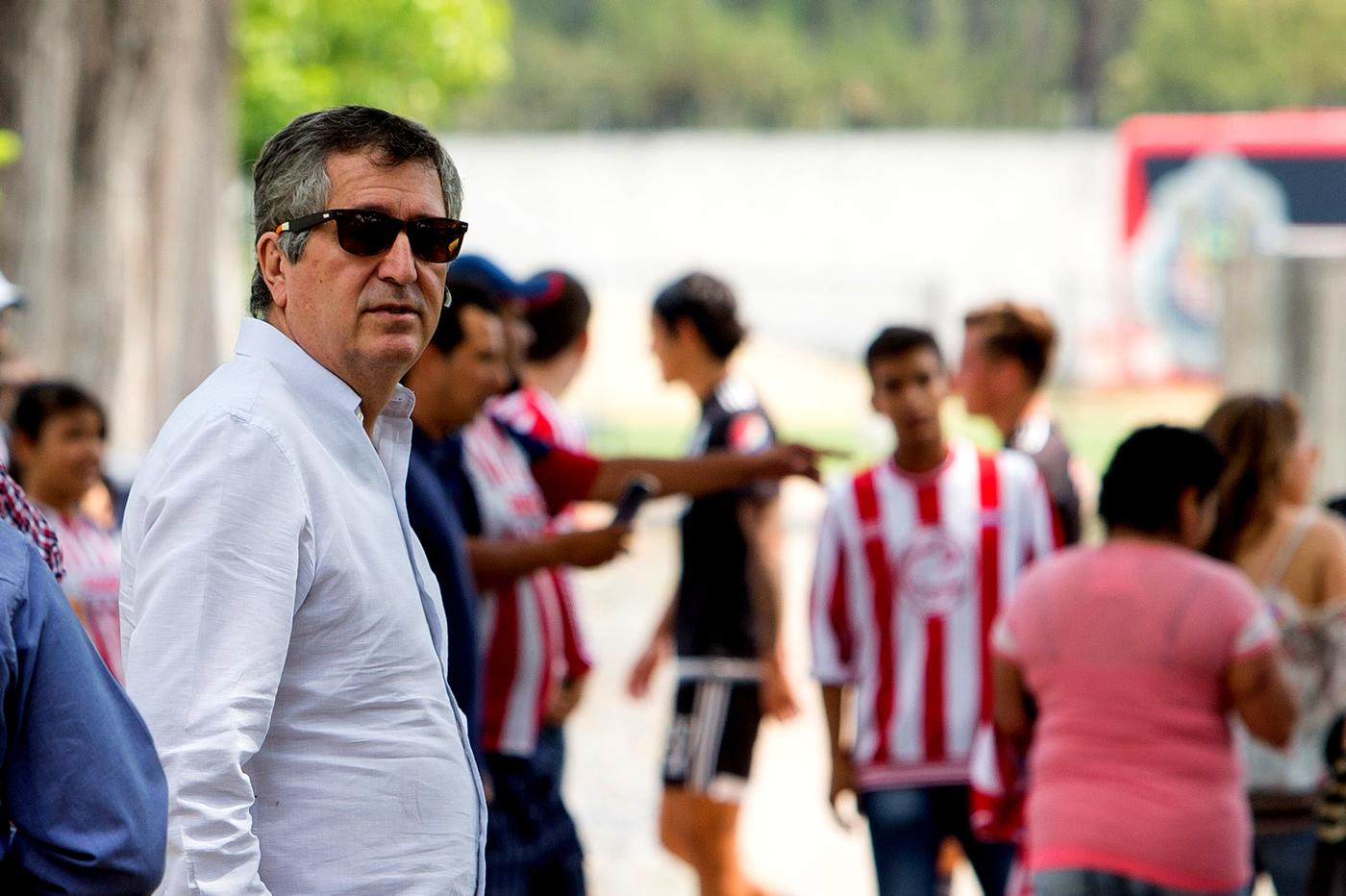 El dueño de Chivas, Jorge Vergara.
