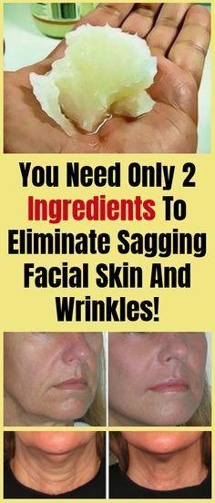 TRY THIS !!! Korean Grandmas Formula You May Have 2 Ingredients That Will Eliminate Sagging Facial Skin & Wrinkles In One Night!
