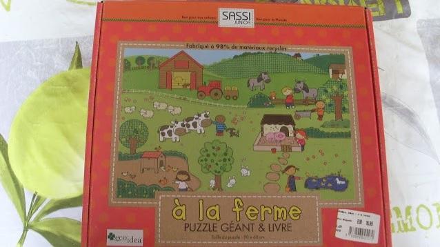 puzzle géant pour enfant