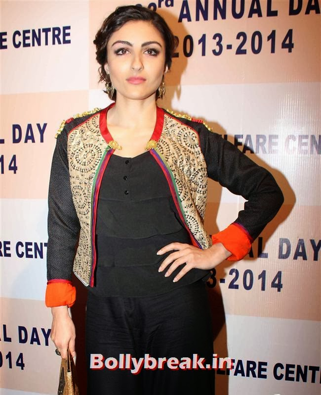 Soha Ali Khan, Celebs at  33rd Annual Day Celebrations Of Children Welfare Centre High School