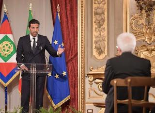 رئيس إيطاليا مع بوفون