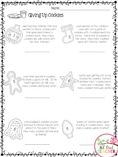 Help engage your students before the holidays with this free math multiplication print and go printable pack!