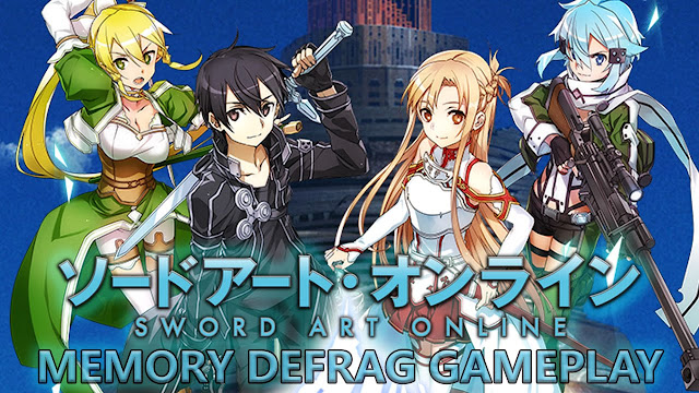 Download Sword Art Online Memory Defrag Mod Apk Game