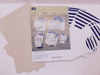 stamping up card kit content