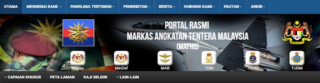 Rasmi - Jawatan Kosong (ATM) Angkatan Tentera Malaysia 2019