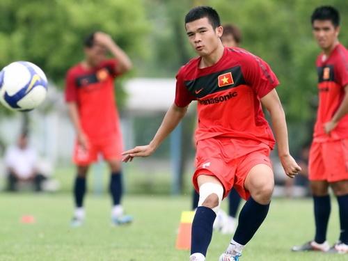Ngô Hoàng Thịnh mới được bầu là đội trưởng Olympic Việt Nam