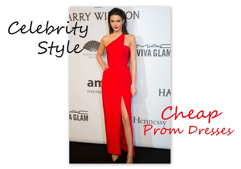 cheap prom dresses - celebrity style