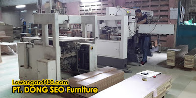 Lowongan Kerja PT. DONG SEO Furniture Tangerang
