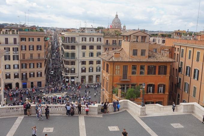 Lapsiperheen kokemuksia Roomasta - vinkkejä ja nähtävyydet, Espanjalaiset portaat