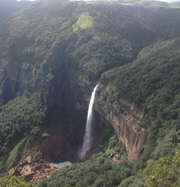 6th highest waterfall - Nohkalikai Falls