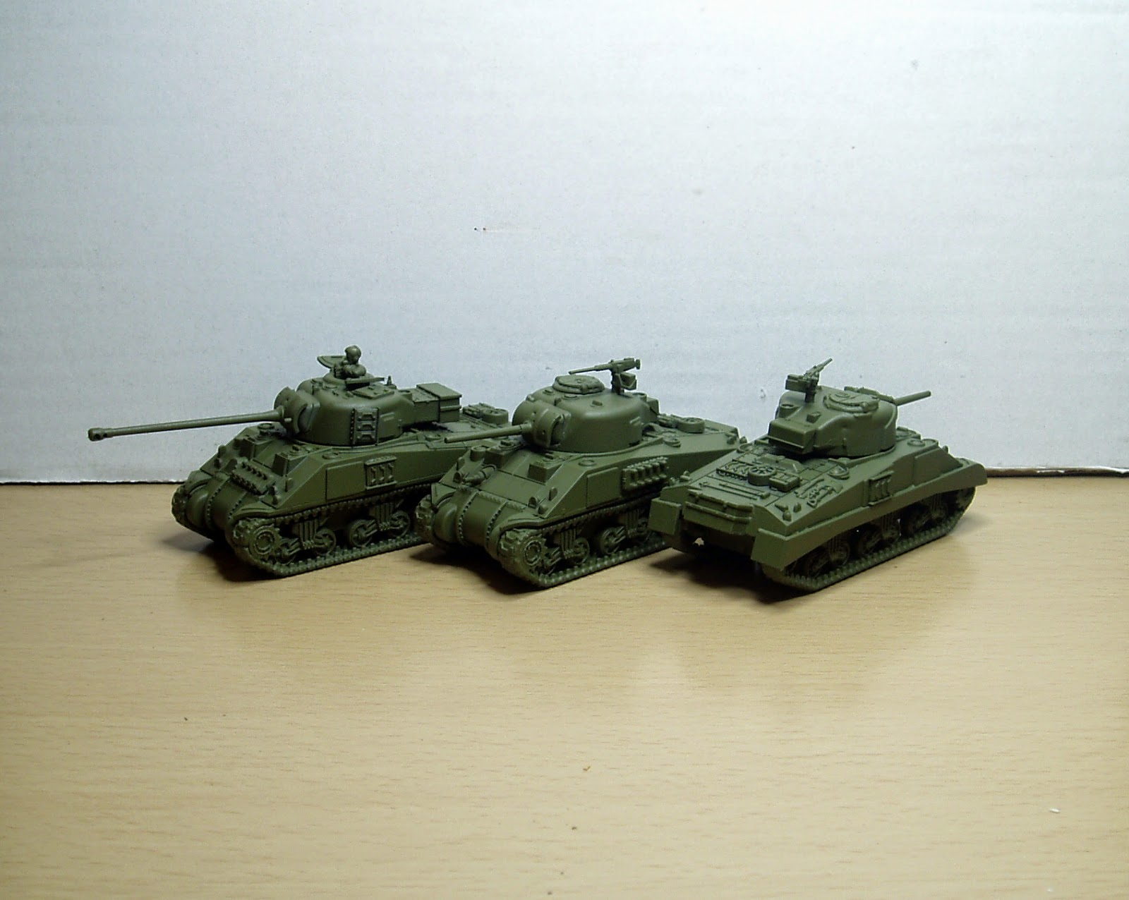Plastic Soldier Company 1 /72 Scale Sherman Tank – WIP