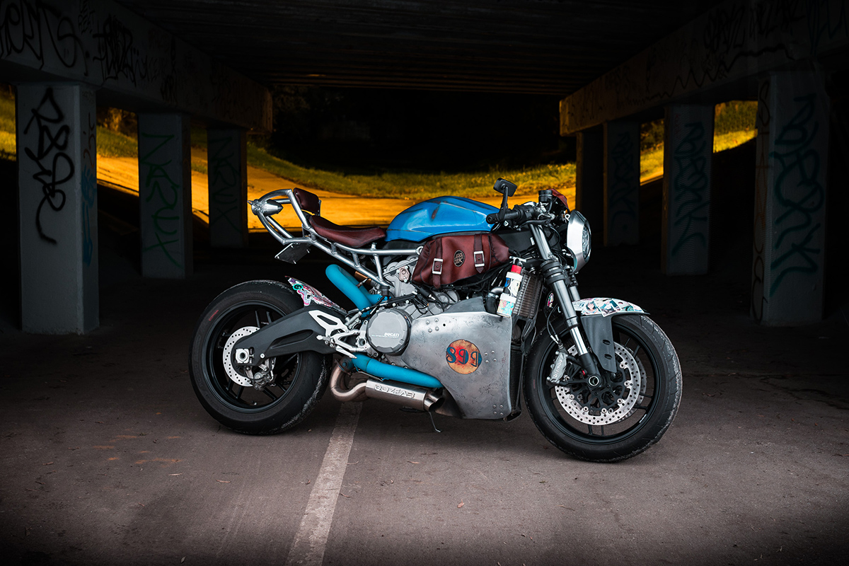 Impure Panigale Ducati 899 Cafe Racer Return Of The
